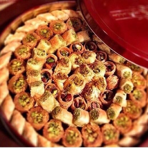 بقلاوة مشكلة ألماسية - يتم التوصيل بواسطة Zalatimo Sweets