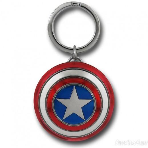 علاقة مفاتيح بشكل درع شخصية Captain America