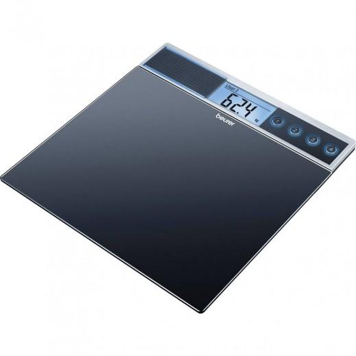 بيورير – ميزان شخصي ديجيتال زجاج ناطق موديل GS 39