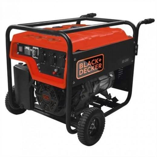 بلاك أند ديكر - مولد طاقة و محول 28 لتر 4500 واط – برتقالي - يتم التوصيل بواسطة Market Vision Trading
