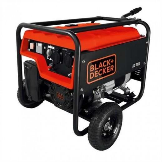 بلاك أند ديكر - مولد طاقة و محول 18 لتر 2500 واط – برتقالي - يتم التوصيل بواسطة Market Vision Trading  خلال ثلاثة أيام عمل