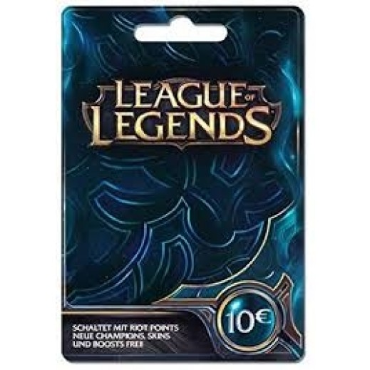 League Of Legends €10 - Delivered by E-mail