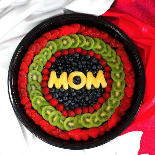 فواكة عيد الأم - يتم التوصيل بواسطة Fruit Art