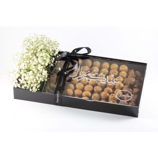 بوكس من الكاكاو المتنوع 135 قطعة - يتم التوصيل بواسطة SugarestQ8 Chocolate