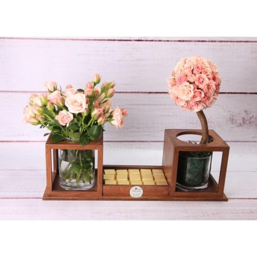 زهور بيبي جوري روزي - يتم التوصيل بواسطة Gate Of Flowers