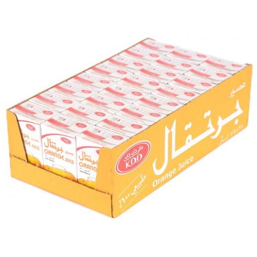 كى دى دى - عصير البرتقال 250 مل ( 24 حبة )