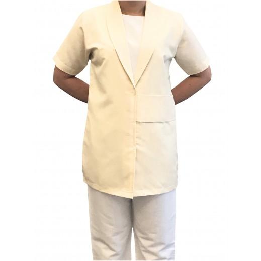 إم جي - ملابس الخادمة 100 بيج فاتح (S - XL)