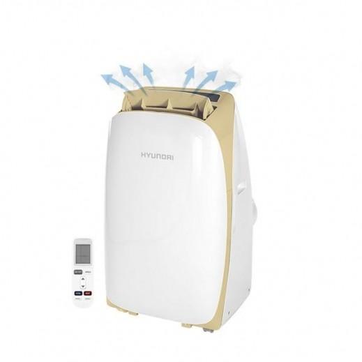 """هيونداي – مكيف متنقل 12000  وحدة حرارية – بارد فقط موديل """" HY- ACP12C """" - يتم التوصيل بواسطة Standard Arabian Business & Enterprises Co."""