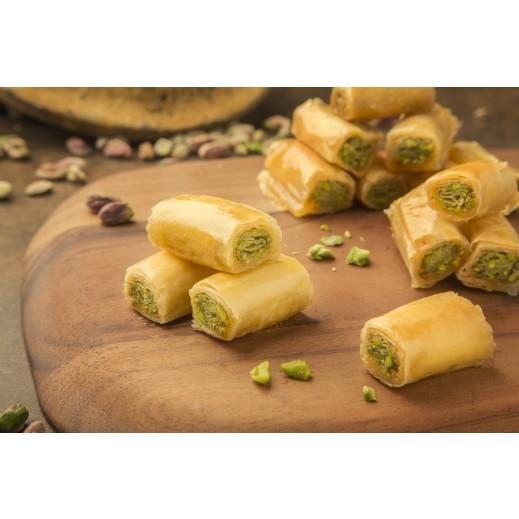 أصابع الفستق 1 كجم - يتم التوصيل بواسطة Zalatimo Sweets
