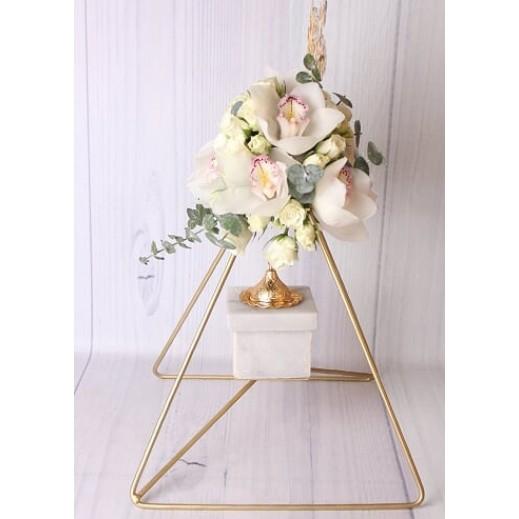 ستاند زهور الأوركيد - يتم التوصيل بواسطة Gate Of Flowers