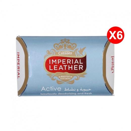 امبريال ليذر – صابونة أكتيف 125 جم (5+1 مجانا) عرض خاص
