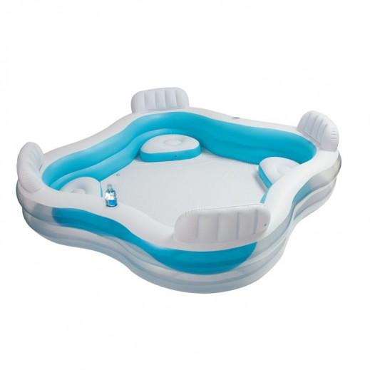 إنتكس – صالة حمام سباحة عائلية 229 × 229 × 66 سم