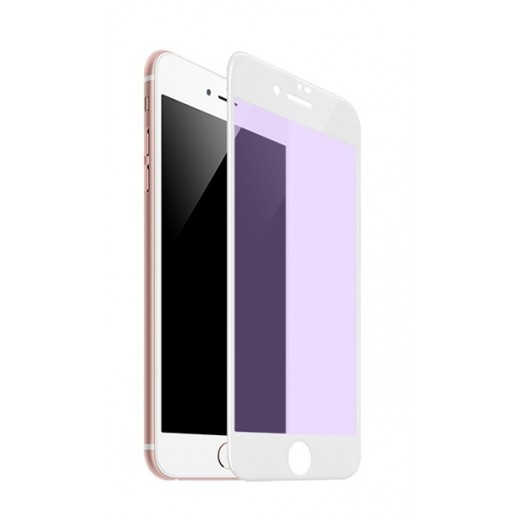 Hoco Anti Blue Ray 3D Glass Screen Protector iPhone 7 / 8 - White