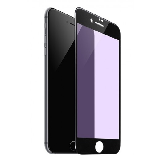 Hoco Anti Blue Ray 3D Glass Screen Protector iPhone 7 / 8 plus - Black