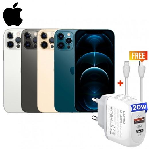 أبل – هاتف آيفون 12 برو 5G بشريحة e-sim