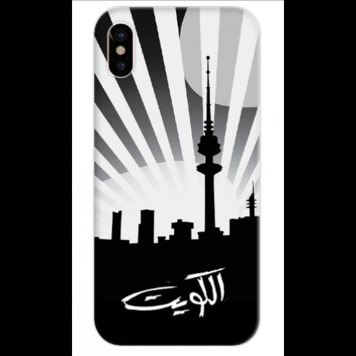 غطاء اسود للهاتف - الكويت - يتم التوصيل بواسطة Berwaz.com
