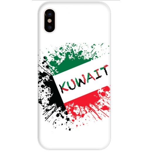 غطاء ابيض للهاتف – الكويت - يتم التوصيل بواسطة Berwaz.com