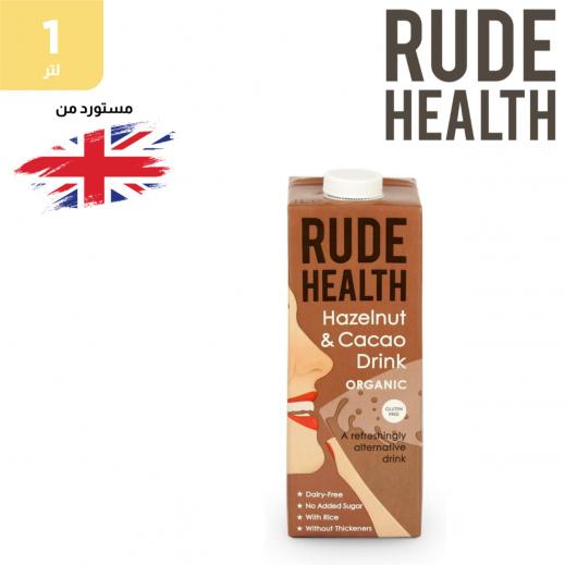 رود هيلث - مشروب شوكولاتة البندق العضوي والخالي من الغلوتين 1 لتر