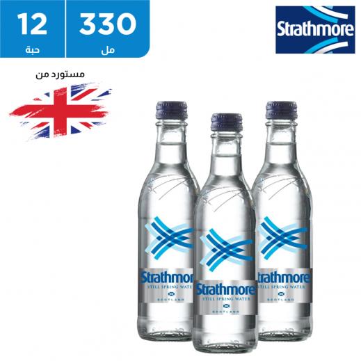 ستراثمور زجاجة مياه معدنية 12 × 330 مل