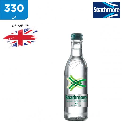ستراثمور زجاجة مياه معدنية فوارة 330 مل