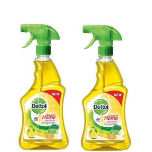 ديتول – منظف الحمامات برائحة الليمون 2×500 مل (20% خصم)