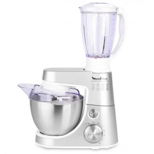 مولينكس – ماكينة المطبخ 4 لتر 900 واط – فضي - يتم التوصيل بواسطة Esmail Bahman EBE