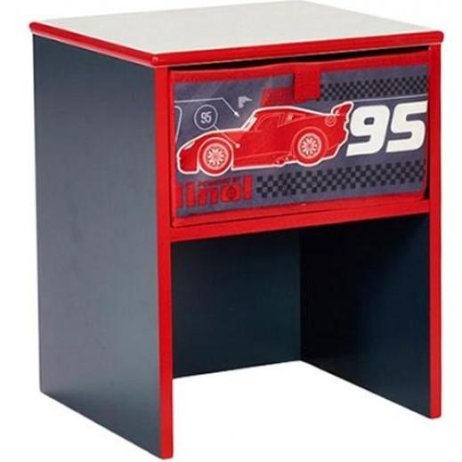 طاولة بجانب السرير بتصميم سيارات السرعة من ديزنى - يتم التوصيل بواسطة تابي جروب خلال 2 أيام عمل