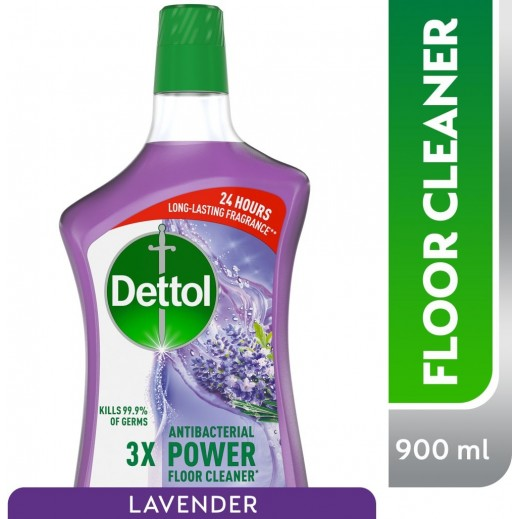 ديتول - منظف الأرضيات القوي المضاد للجراثيم - برائحة اللافندر 900 مل
