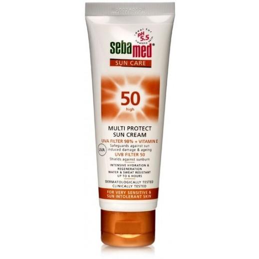سيباميد – كريم واق من أشعة الشمس 50 متعدد الحماية 75 مل