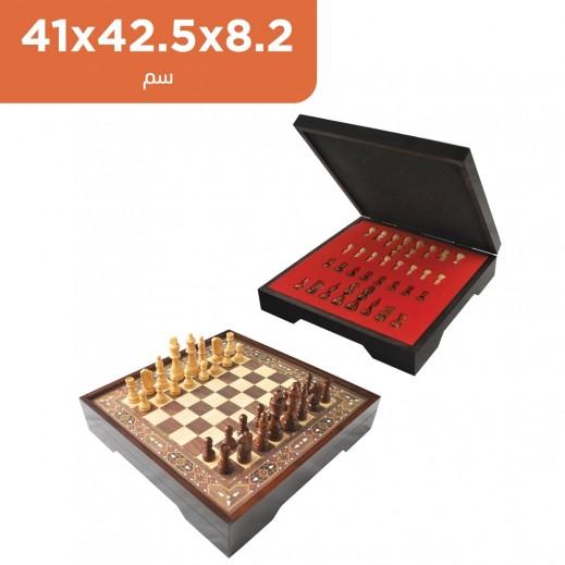 لعبة الشطرنج الخشبية VIP