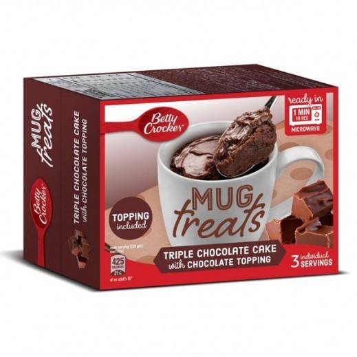 بيتي كروكر – خليط الشوكولا الثلاثية مع الكريمة 255 جم