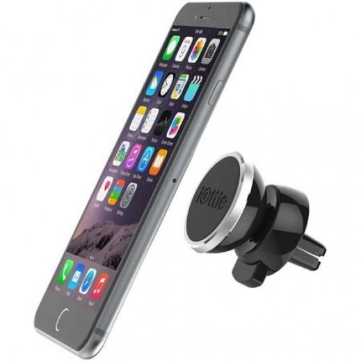 قاعدة تثبيت مغناطيسية للهواتف تثبت على فتحات الهواء في السيلرة - ازرق