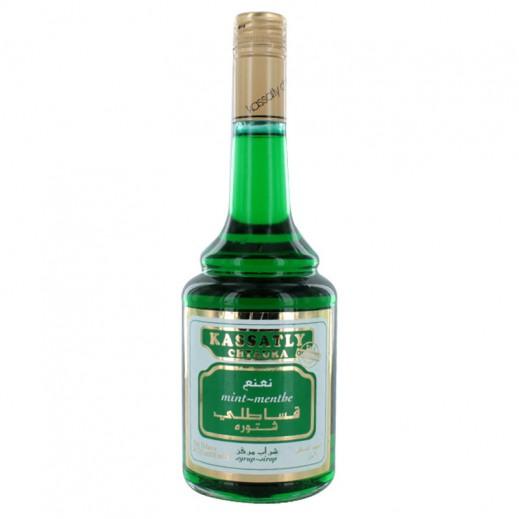 قساطلي شتورة – شراب النعناع المركز 600 مل