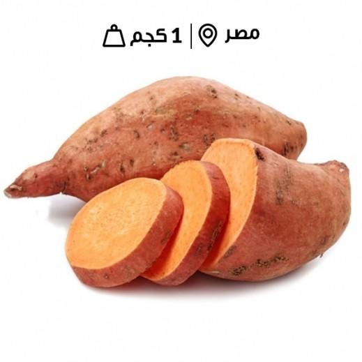 بطاطا حلوة مصريّة طازجة (1 كجم تقريبا)