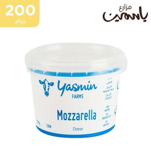 مزارع ياسمين جبنة موتزاريلا 200 جم