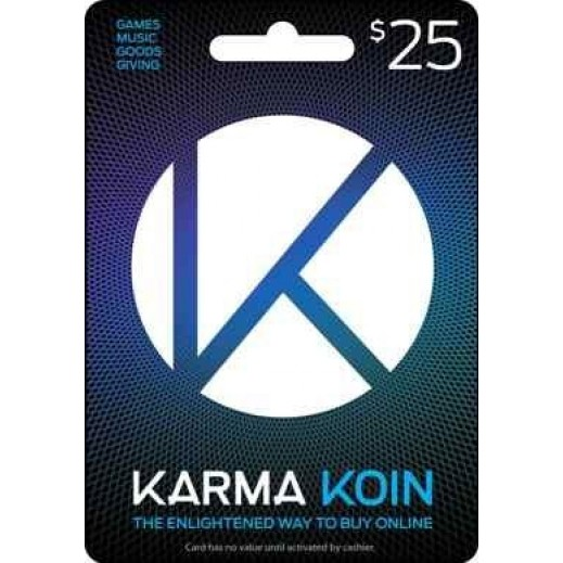 Karma Koin $25 - Delivery by E-mail