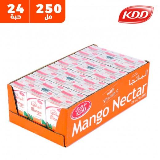 كى دى دى - عصير المانجو نكتار 250 مل ( 24 حبة )