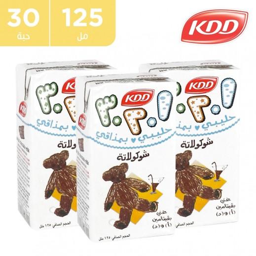 كي دي دي حليب بنكهة الشوكولاتة 30 x 125 مل