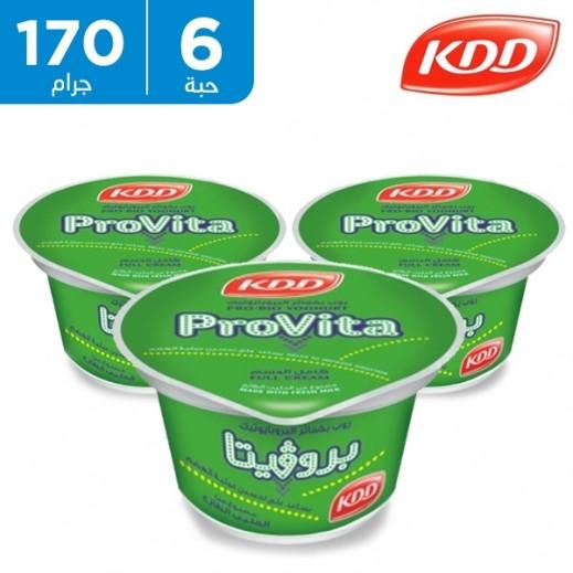 كي دي دي – روب بروﭭيتا كامل الدسم بخمائر البروبايوتيك 170 جم (5 + 1 مجاناً)