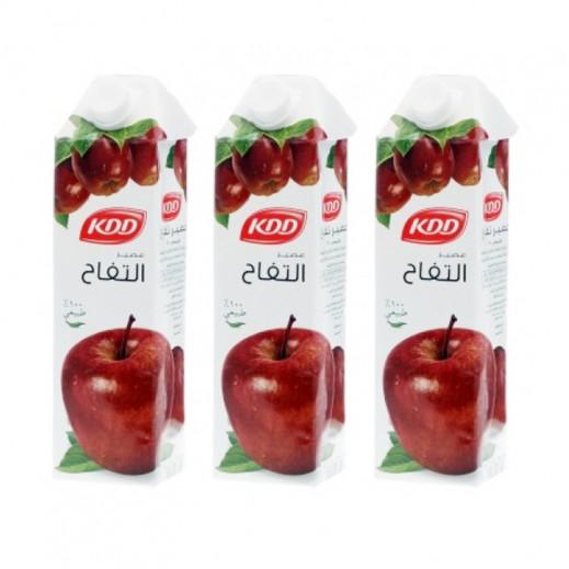 كي دي دي - عصير التفاح 1 لتر (3 حبة) - عرض التوفير