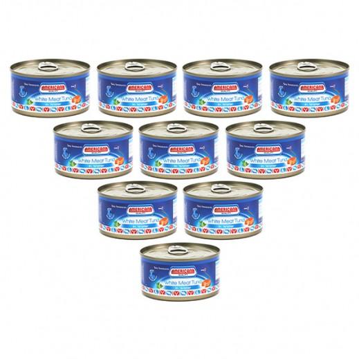 أمريكانا - لحم التونة الأبيض في ماء 185 جم × 12 حبة - أسعار الجملة