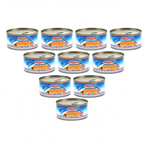 أمريكانا - لحم التونة الخفيف 185 جم (12 حبة) - أسعار الجملة