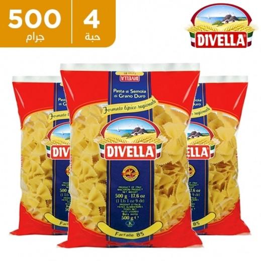 ديفيلا – معكرونة فارفال رقم 85 4 × 500 جم