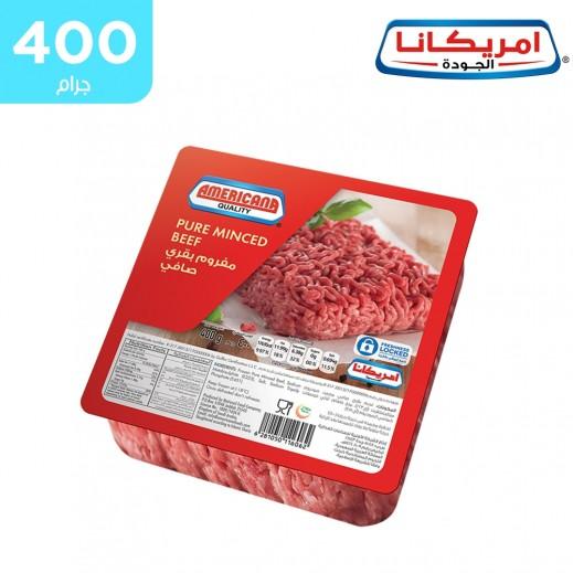 أمريكانا - لحم بقري مفروم – مربع 400 جم
