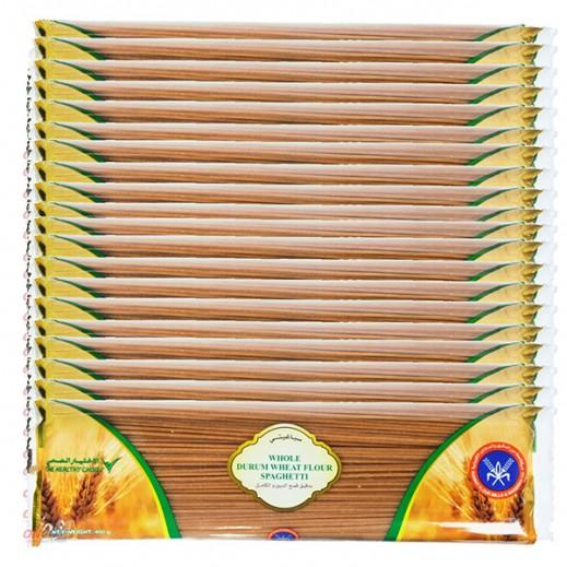 المطاحن – معكرونة سباغيتي بدقيق القمح الكامل 400 جم (20 حبة)