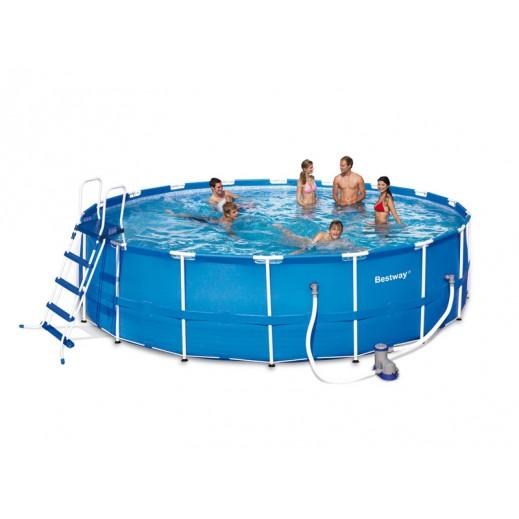 بست واي – حمام سباحة بإطار من الستيل 549 × 122 سم