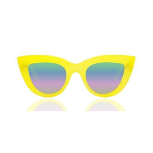 """نظارة كوى استراليا """"كيتي"""" – أصفر 50 مم (QUA1174) - يتم التوصيل بواسطة Lenoor Crown"""