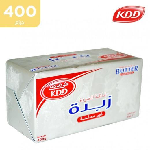كي دي دي – زبدة غير مملحة 400 جم