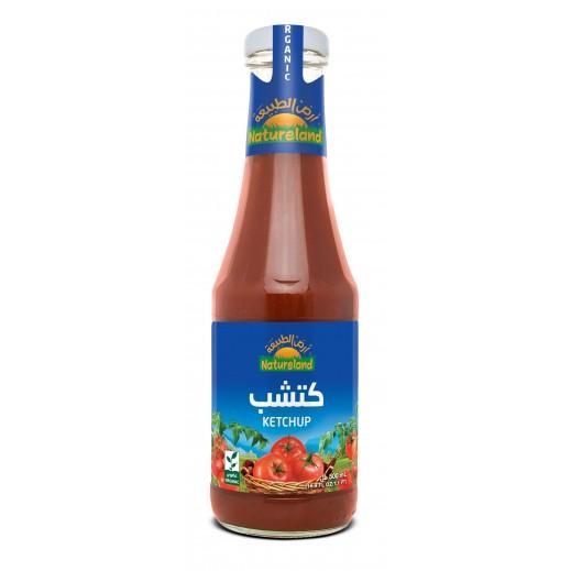أرض الطبيعة – كاتشب طماطم 500 جم