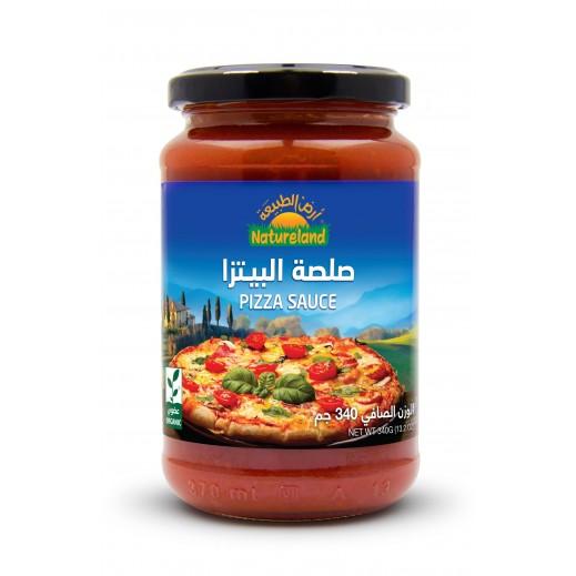 أرض الطبيعة – صلصة البيتزا 340 جرام